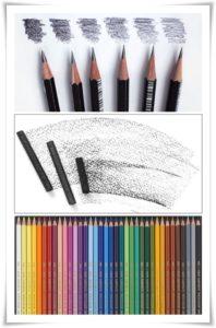 molivi, ramki, kartini, въглен, моливи акварекни, рисуване, материали за художници